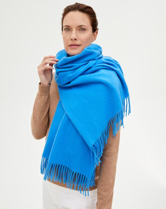Stole 210 x 75 cm - Azure blue
