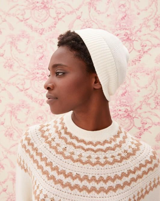 Classic hat - Autumn white