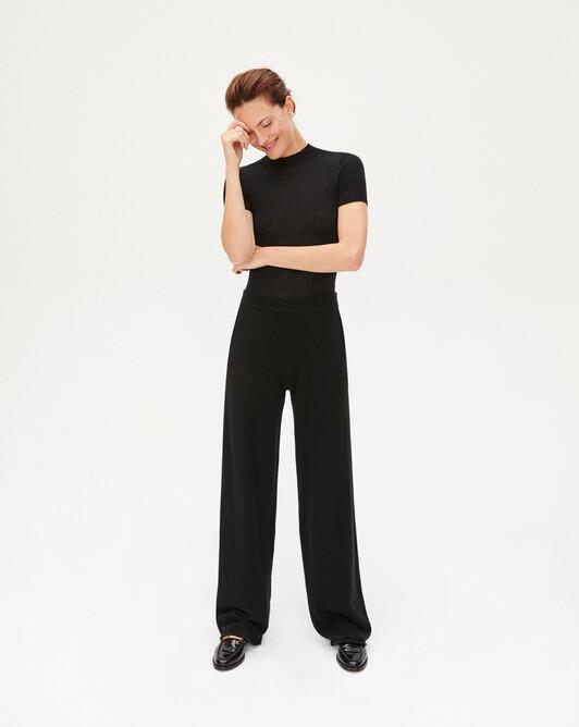 Pantalon jersey - Noir