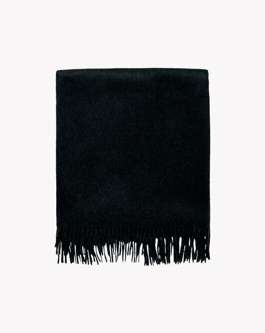 Plaid 150 cm x 150 cm - Noir