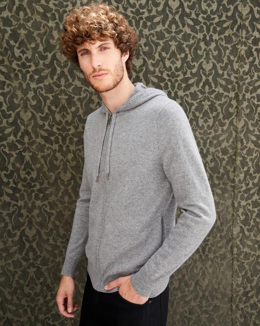 Hoodie - Flannel grey