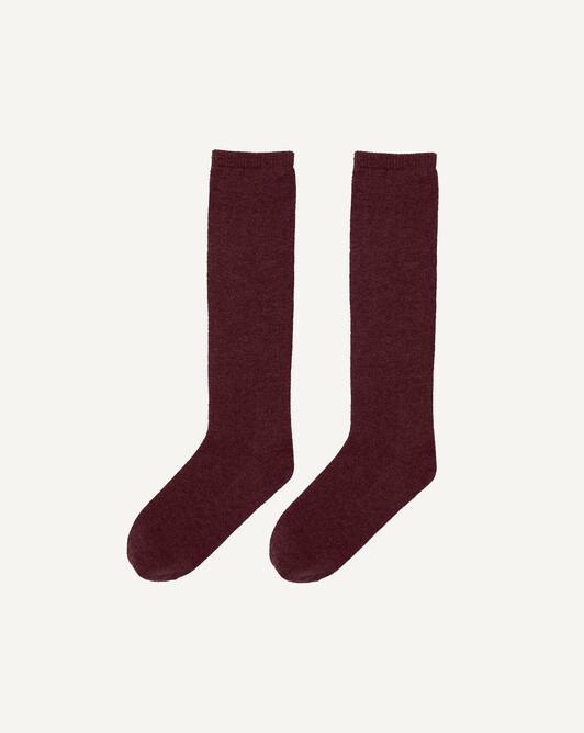 Chaussettes hautes unies - Dahlia