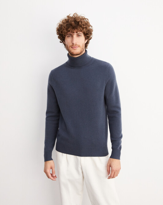 4-ply roll-neck - Incense