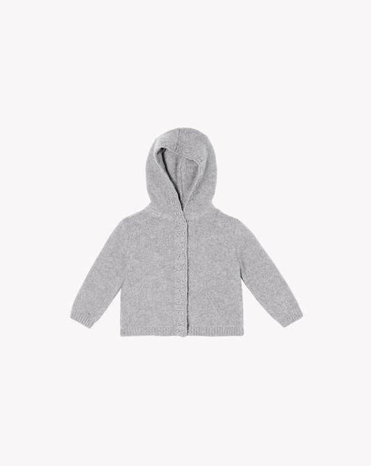 Hooded jacket - Frost grey