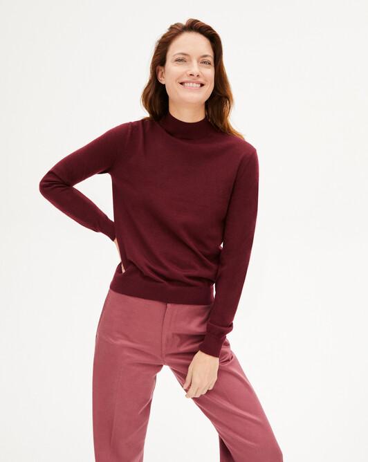 Contemporary turtleneck sweater sweater - Dahlia