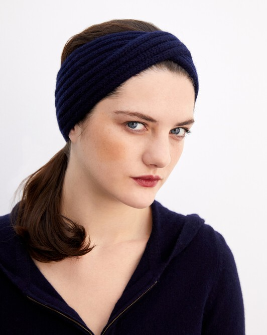 Headband - Navy blue