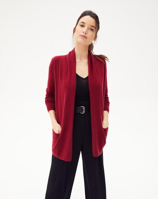 Cosy jacket - Paprika