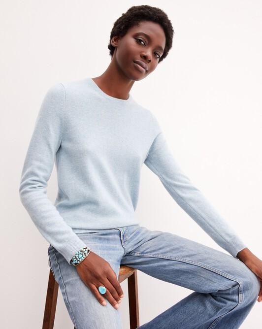 Classic crew neck pullover - Jean