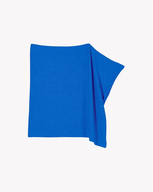 Poncho - Cobalt