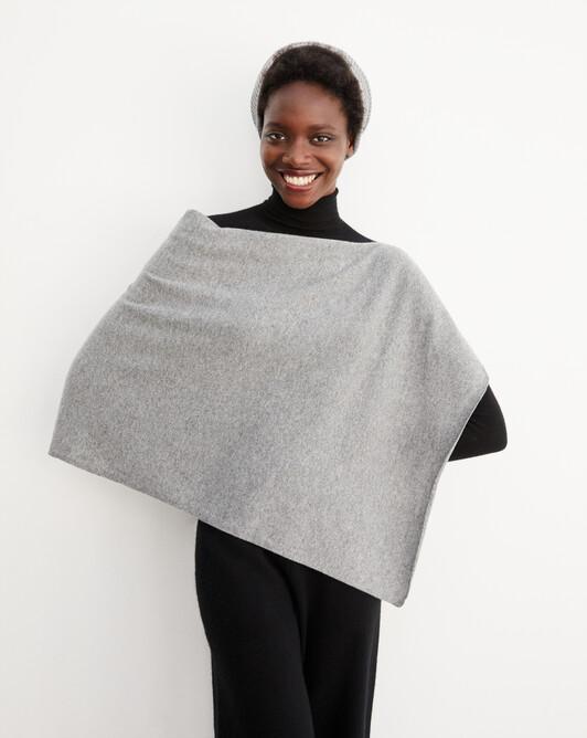 Poncho - Flannel grey