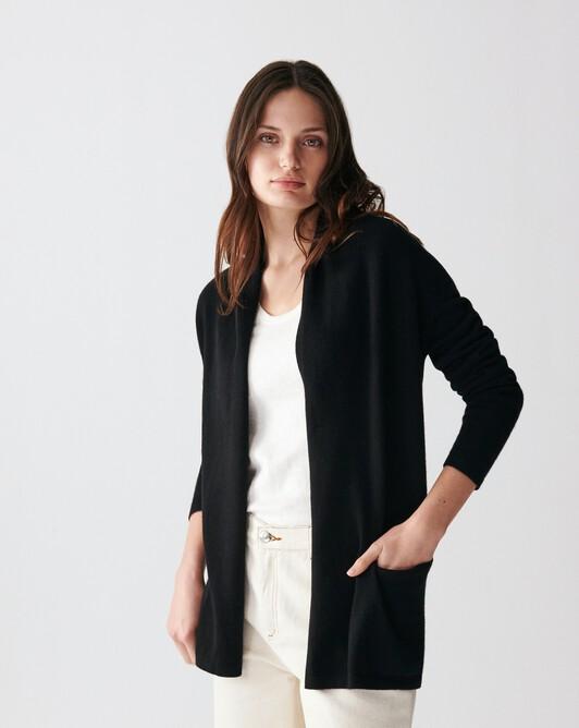 Veste cosy - Noir