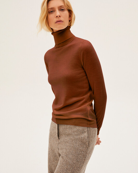 Extrafine roll-neck sweater sweater - Everbay