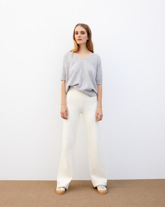 Milano trousers - Autumn white