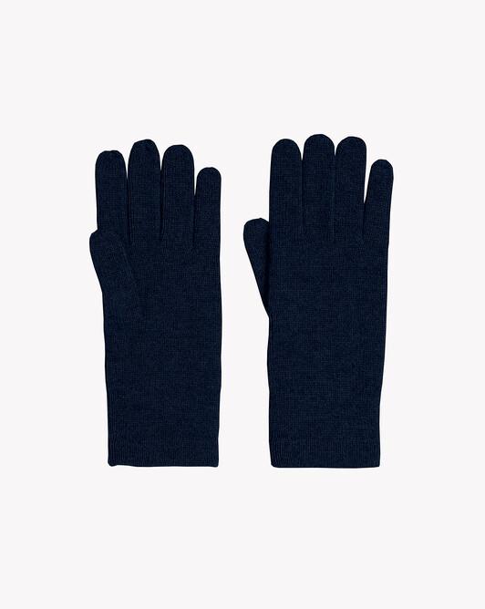 Men's gloves - Navy blue