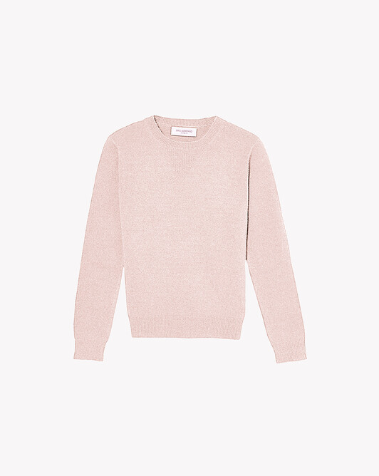Sweatshirt - Soft pink melange