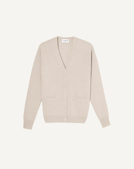Classic cardigan - Turtledove beige