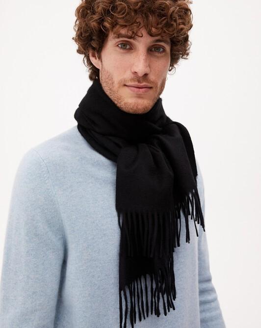 Classic scarf 170 cm x 35 cm - Black