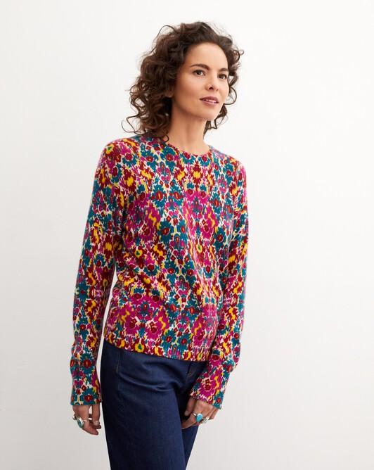 Ras de cou imprimé ispahan - Multicoloris