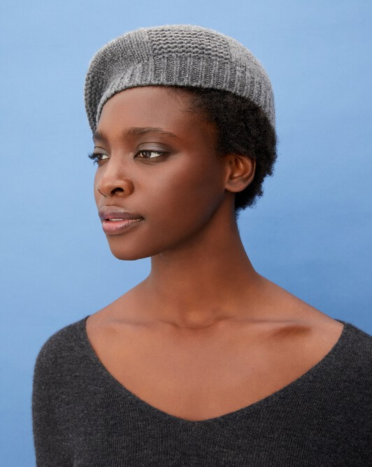 Beret hat - College grey