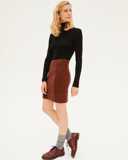 Cashmere milano short skirt - Everbay
