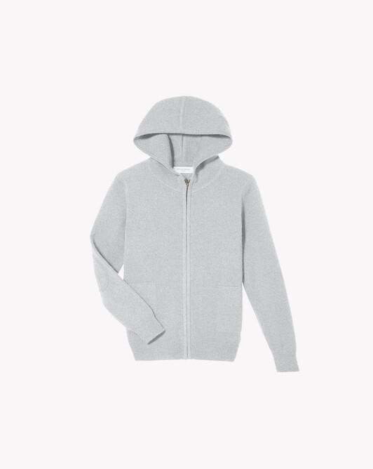 Kids hoodie - Frost grey