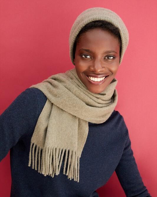 Classic scarf 170 cm x 35 cm - Khaki