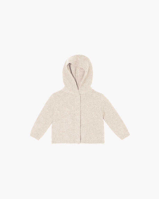 Hooded jacket - Autumn white