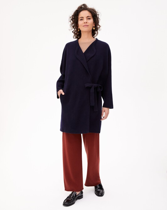 Milano coat - Navy blue