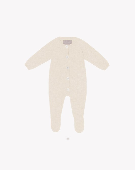 Baby suit - Autumn white