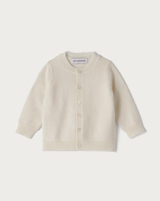 Baby cardigan - Autumn white