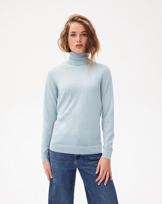Extrafine roll-neck sweater sweater - Jean