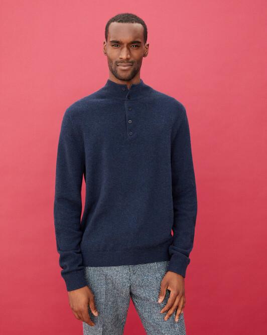 Sweat-shirt bicolore - Graphite/encens