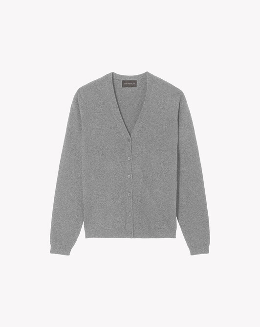 Fitted cardigan - Flannel grey