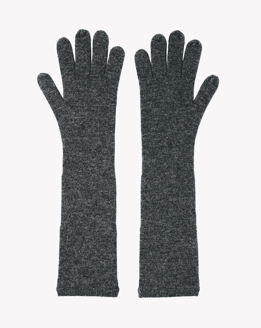 Long gloves - College grey