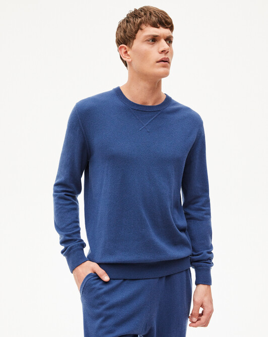 Sweat-shirt casual jersey - Indigo