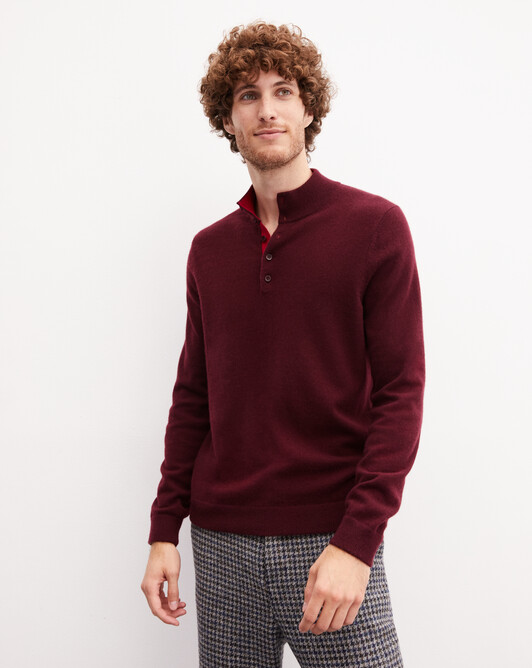 Sweat-shirt bicolore - Azuki/nepal