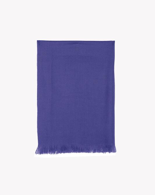 Écharpe voile de cachemire 150 cm x 55 cm - Guenievre