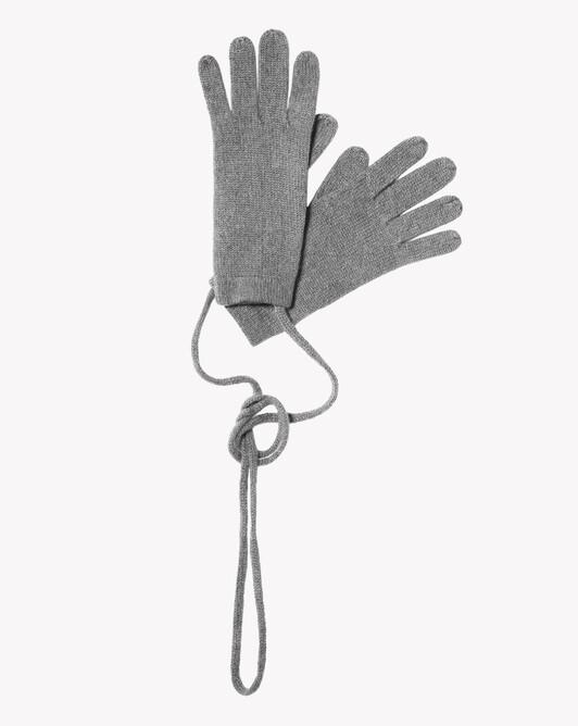 Child gloves - Flannel grey