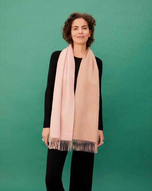 Two colour 175 cm x 35 cm - Cmael/blush