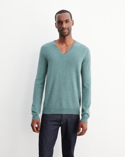 Classic V-neck pullover - Horizon