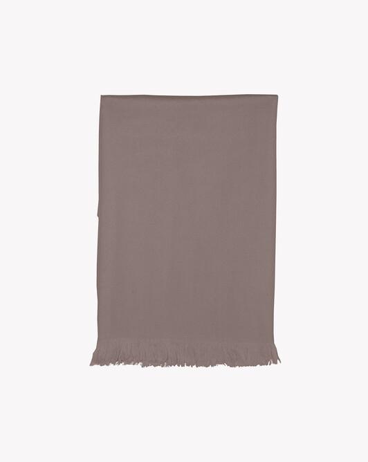 Giant cashmere voile stole 250 cm x 120 cm - Coriander
