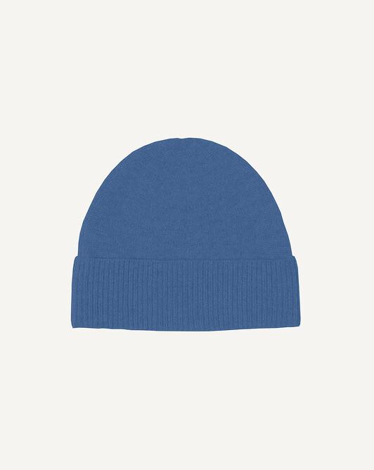Bonnet classique - Bleu shetland