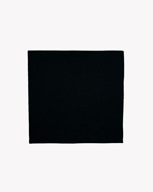 Étole déjaugée - Noir