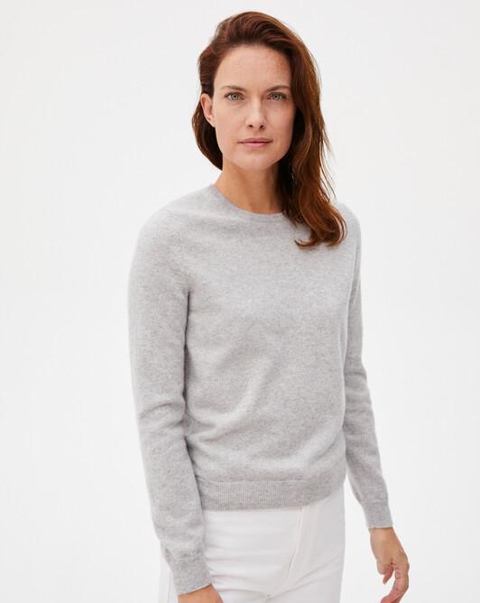 Classic crew neck sweater - Frost grey