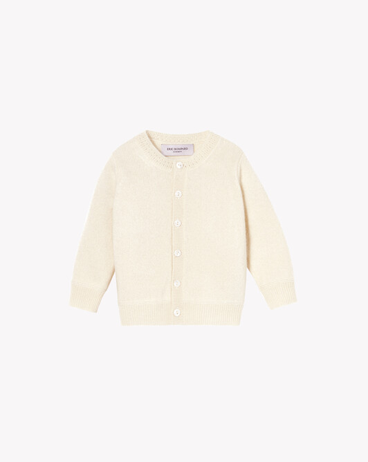 Baby cardigan - Autumn white