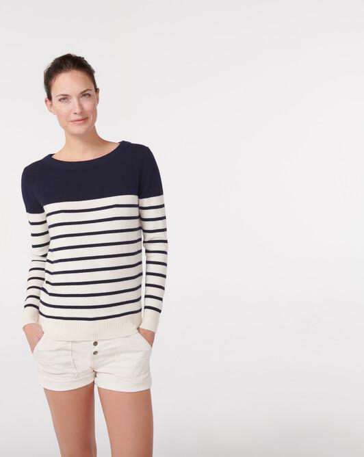 Marinière classique - Naturel/marine