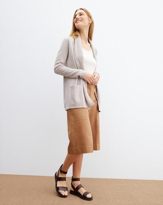 Cosy jacket - Latte