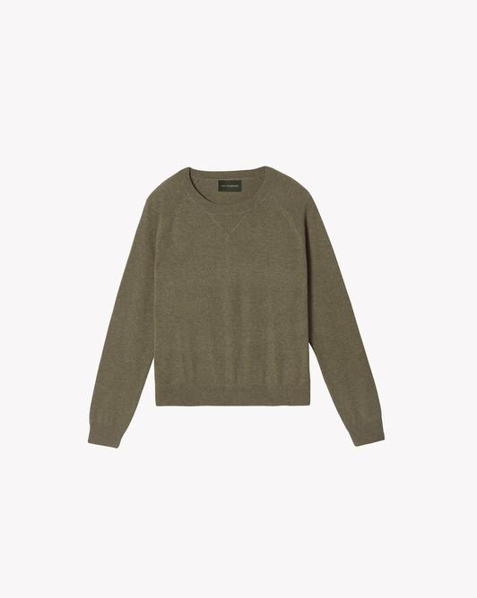 Sweat-shirt casual - Kaki