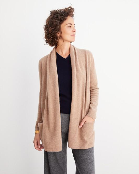 Cosy jacket - Camel