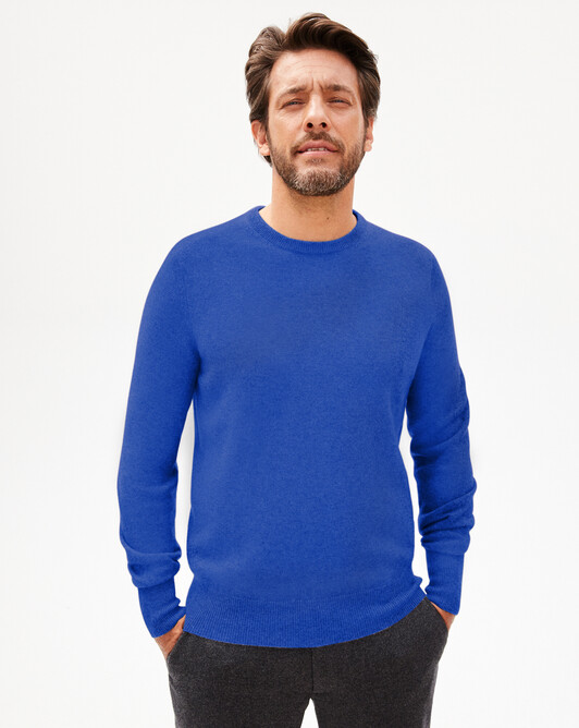 Classic crew-neck sweater - Mykonos